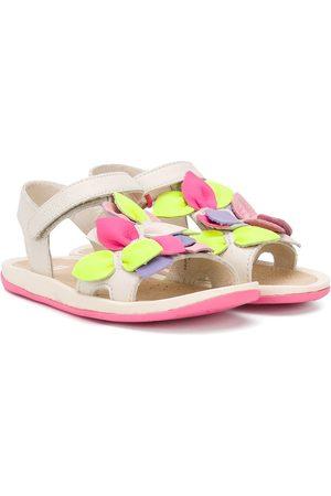 adidas Girls Sandals - Twins petals-appliqué sandals