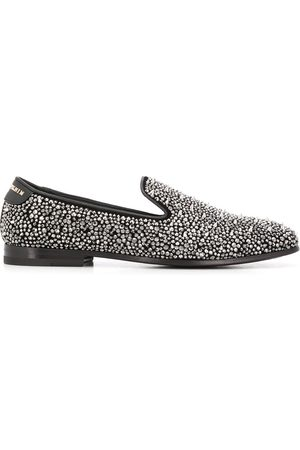 Philipp Plein Rhinestone studded loafers