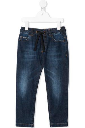Dolce & Gabbana Drawstring waist straight jeans