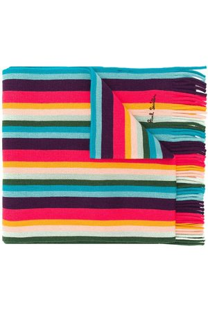 Paul Smith Artist Stripe scarf