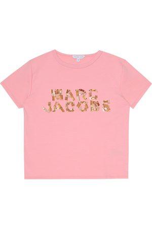 Marc Jacobs Embellished jersey T-shirt