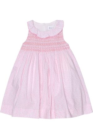 Rachel Riley Baby floral cotton dress and bloomers set