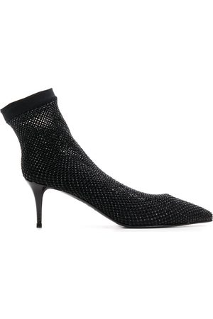 LE SILLA Pointed sock pumps