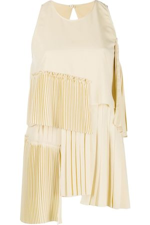 Nº21 Pleated details tank top