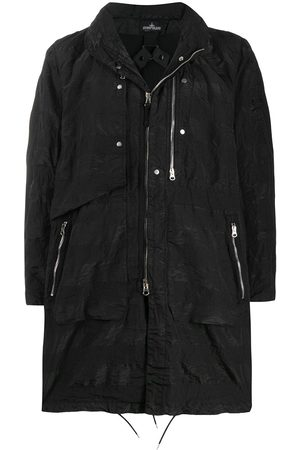 STONE ISLAND SHADOW PROJECT Stowable hood zip-up parka