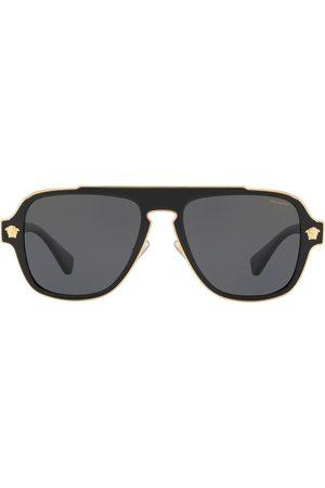 VERSACE Aviator-frame sunglasses