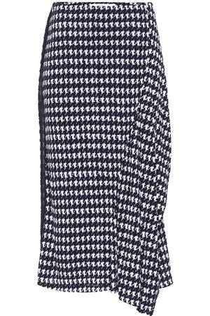 Victoria Beckham Houndstooth midi skirt