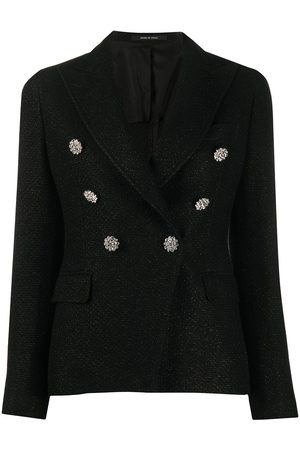 TAGLIATORE Embellished button blazer