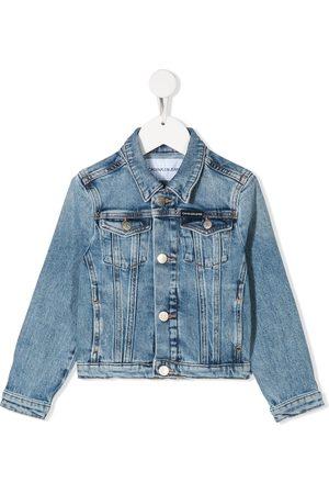 Calvin Klein Stonewashed denim jacket