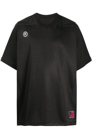 MARTINE ROSE Oversized V-neck T-shirt