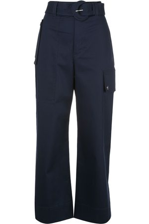 PROENZA SCHOULER WHITE LABEL Belted cargo trousers