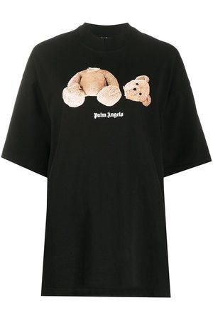 Palm Angels Bear print oversized T-shirt