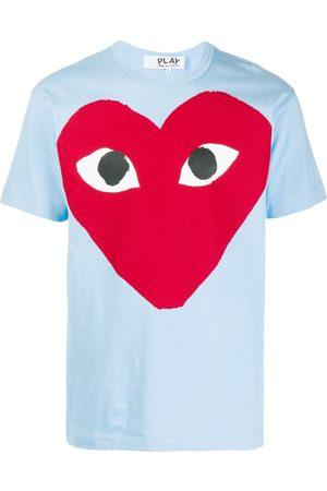 Comme des Garçons Red Heart logo T-shirt