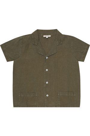 Caramel Holborn linen shirt