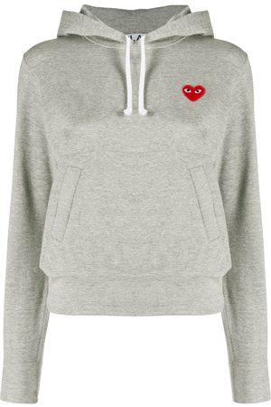 Comme des Garçons Logo heart hoodie