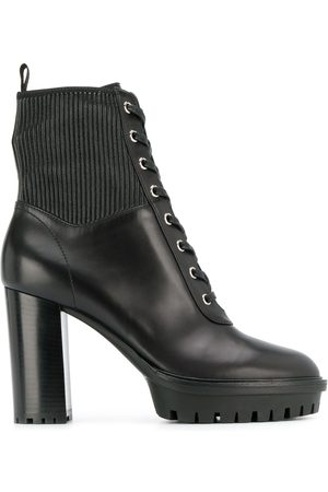 Gianvito Rossi Lace-up platform boots