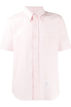 Thom Browne Short Sleeve Seersucker Shirt