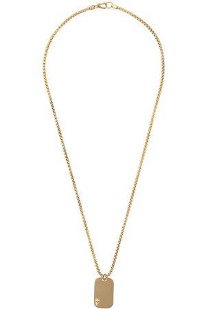 NORTHSKULL Skull tag necklace