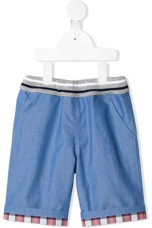Familiar Contrast-panel shorts