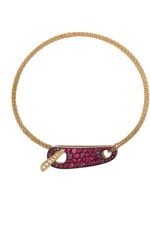 The House of Aziz & Walid Mouzannar 18kt diamond and ruby bracelet