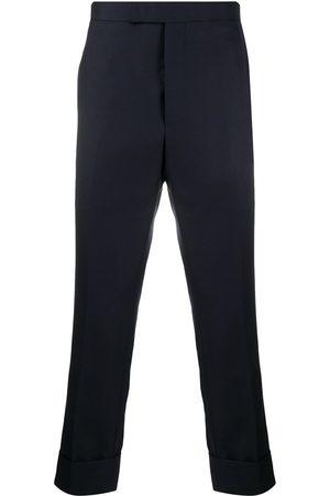 Thom Browne Super 120s twill classic backstrap trousers