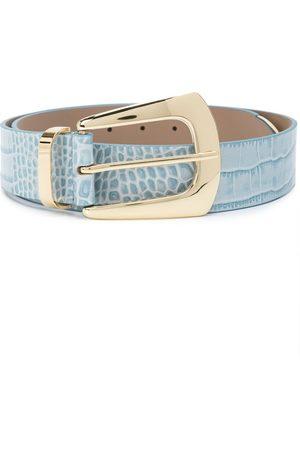 B-Low The Belt Women Belts - Embossed crocodile-effect belt