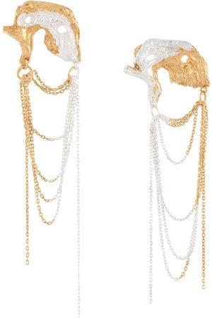 Lee Orion chain-drop earrings