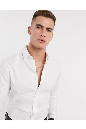 ASOS Formal skinny fit oxford shirt in