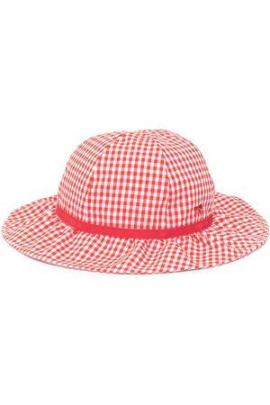 Familiar Checkered sun hat