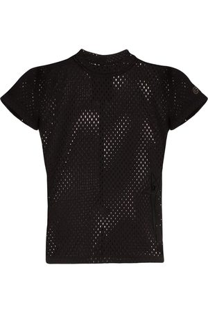 Rick Owens Fitted mesh T-shirt