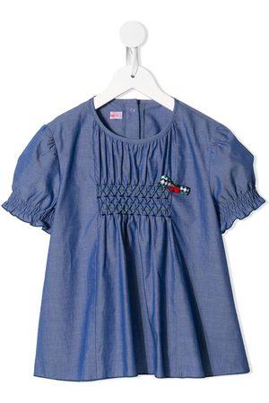 Familiar Girls Blouses - Chambray shirt