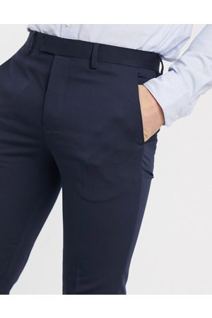 Jack & Jones Men Skinny Pants - Premium super slim stretch suit trousers with recycled polyester in