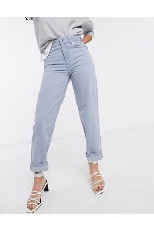 & Other Stories Straight leg jeans in washed