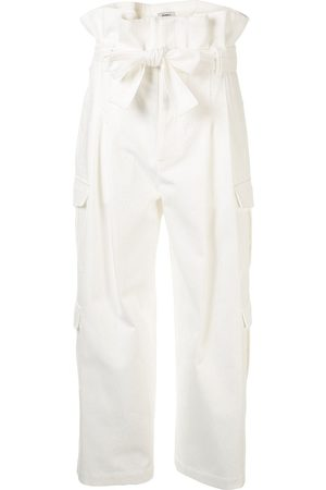 GOEN.J Belted Paperbag Cargo trousers