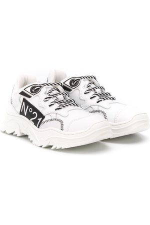Nº21 Logo patch sneakers