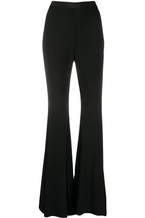 AMEN High-rise flared trousers