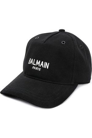 Balmain Logo print cap