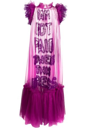 Viktor & Rolf Ruffle-trimmed tulle dress