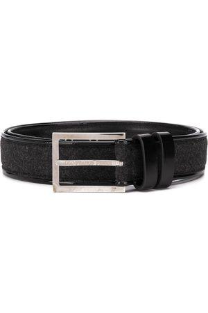 Gianfranco Ferré 1990s woven panel belt