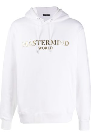 MASTERMIND Logo plaque hoodie