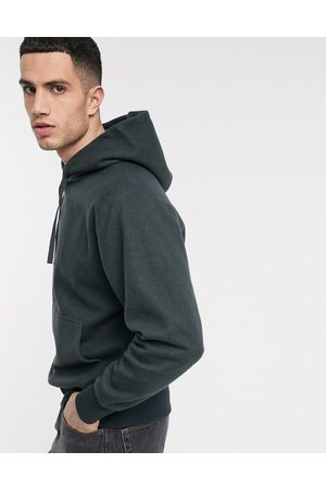 Weekday Helmer hoodie in dark grey