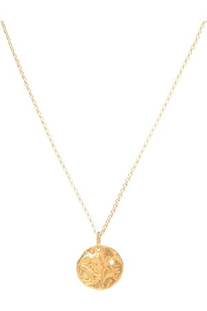 Alighieri The Unspoken Trust 24kt -plated necklace