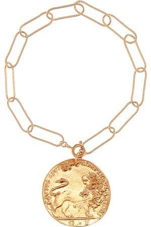 Alighieri Il Leone 24kt -plated bracelet