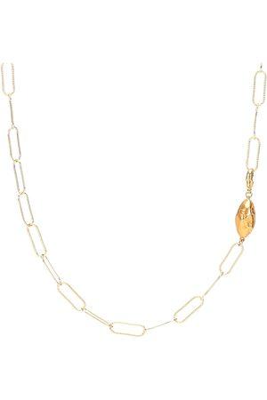 Alighieri L'Incognito 24kt -plated necklace
