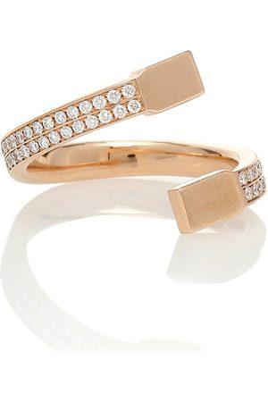 Repossi Serti Carrés Alternés 18kt and diamond ring