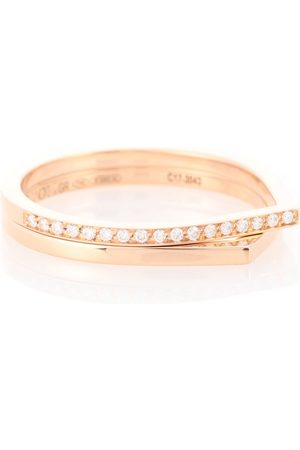 Repossi Antifer 18kt rose and diamond ring