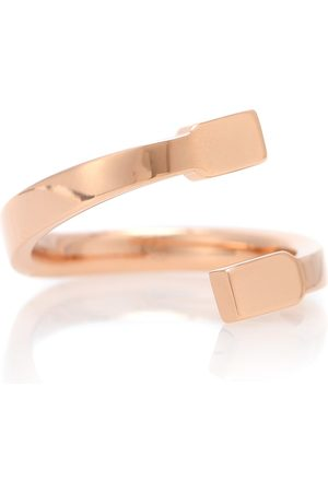 Repossi Serti Sur Vide 18kt rose ring