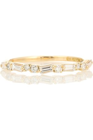 Suzanne Kalan 18kt yellow ring with diamonds