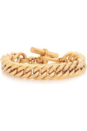 Tilly Sveaas Large 23.5kt -plated curb chain bracelet
