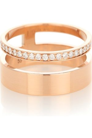Repossi Berbere Module 18kt rose- and diamond ring